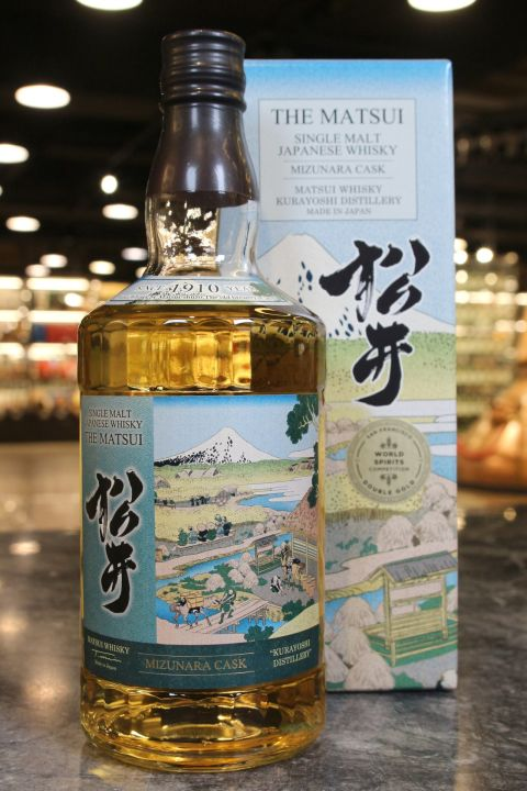 (現貨) The Matsui Mizunara Cask Single Malt Whisky 松井 水楢桶 機場版 (700ml 48%)