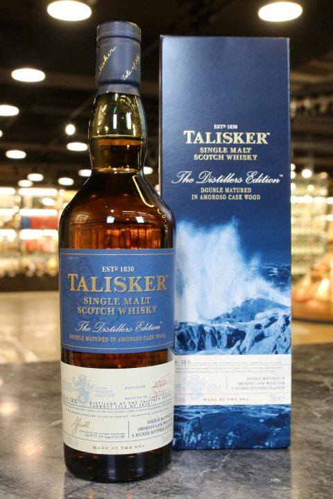 (現貨) Talisker 2008 Distillers Edition 大力斯可 2008 酒廠限定2018版 (700ml 45.8%)