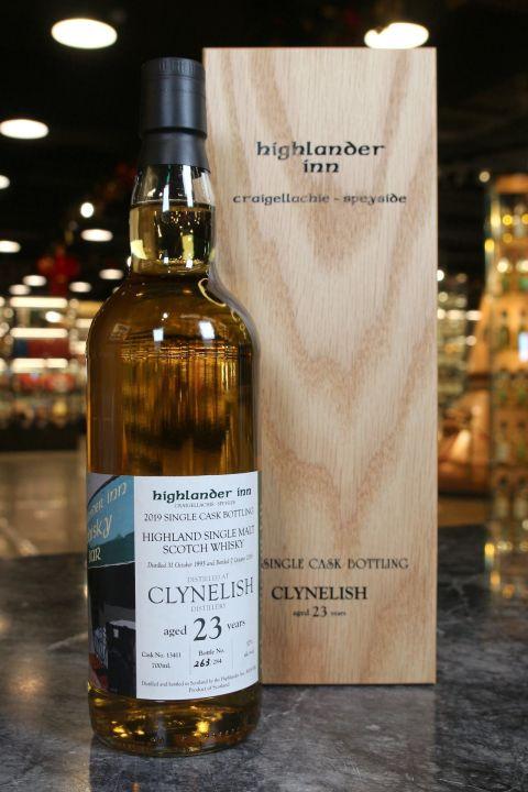 Clynelish 1995 23 Years Highlander Inn 克萊力士 23年 高地人小酒館年度選桶 (700ml 57%)
