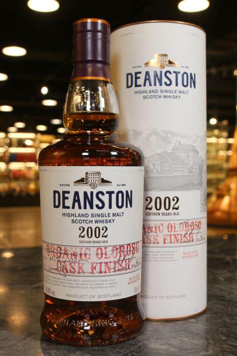 (現貨) Deanston 2002 Organic Oloroso Sherry Cask Finish 汀士頓 2002 有機雪莉桶 (700ml 50.6%)