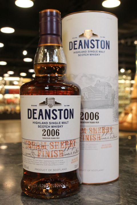 (現貨) Deaston 2006 Cream Sherry Finish 汀士頓 2006 13年 奶油雪莉桶 (700ml 54.2%)