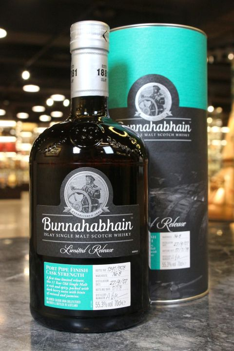 Bunnahabhain 2007 Port Pipe Finish 布納哈本 Port Pipe 2007 波特酒桶 (700ml 55.3%)
