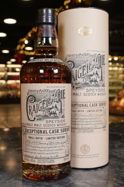 (現貨) Craigellachie Exceptional Cask Series 23 Years 魁列奇 23年 小批次限量版 (700ml 46%)