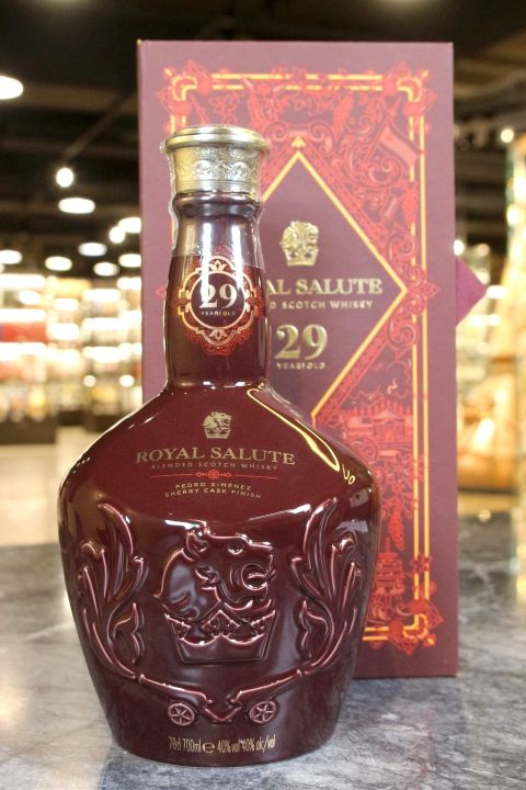 (現貨) Royal Salute 29 Years Old PX Cask Finish 皇家禮炮 29年PX雪莉桶 瓷藝系列 (700ml 40%)