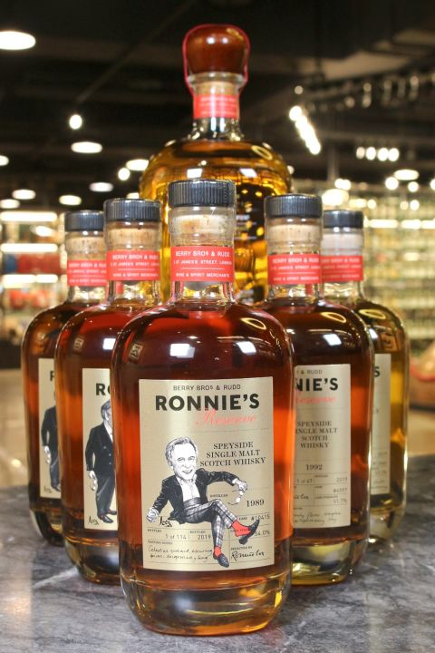 (現貨) BB&R Ronnie's Reserve Speyside Single Malt Whisky 貝瑞兄弟 榮耀絕選 稀有珍藏組