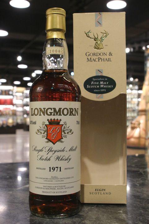 (現貨) Gordon & Macphail - Longmorn 1971~2008 高登麥克菲爾 - 朗摩 1971 37年 (700ml 43%)