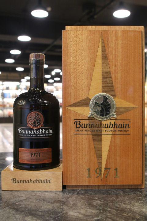 (現貨) Bunnahabhain 1971 Vintage Taiwan Exclusive 布納哈本 1971 台灣限定限量版 (700ml 41.9%)