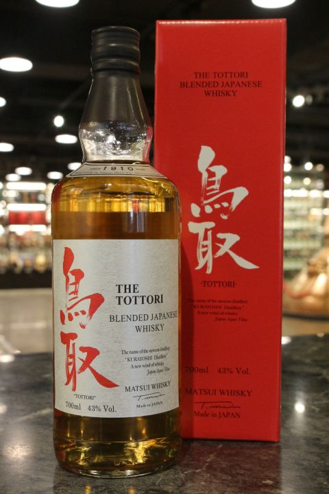 (現貨) The Tottori Blended Whisky 鳥取 調和威士忌 (700ml 43%)