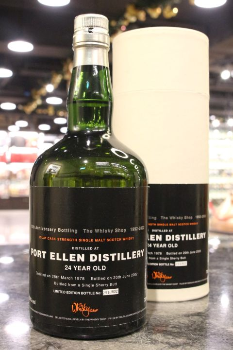 (現貨) Port Ellen 1978 24 Years Douglas Laing 道格拉斯蘭恩 波特艾倫 1978 24年 單桶原酒 (700ml 57.9%)