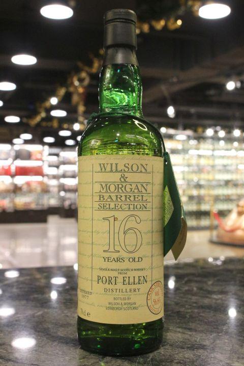 (現貨) Port Ellen 1977 16 Years Wilson & Morgan 威爾森&摩根 波特艾倫 1977 單桶原酒 (700ml 56.6%)