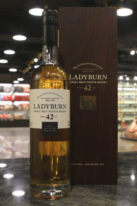 (現貨) Ladyburn 1966 42 Years Single Malt Whisky 雷迪朋 1966 42年 單一麥芽 (700m 40%)