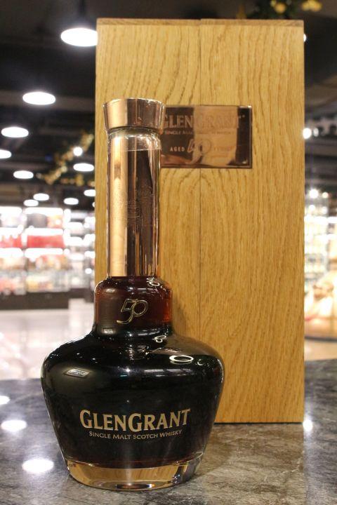 (現貨) Glen Grant 50 Years Limited Edition 格蘭冠 50年 限量珍藏 (700m 54.4%)