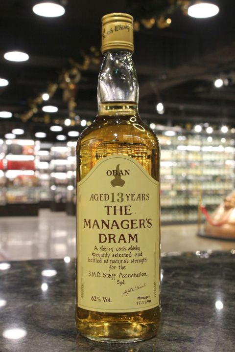 (現貨) Oban 13 Years The Manager's Dram 1990 歐本 13年 原酒 (700m 62%)
