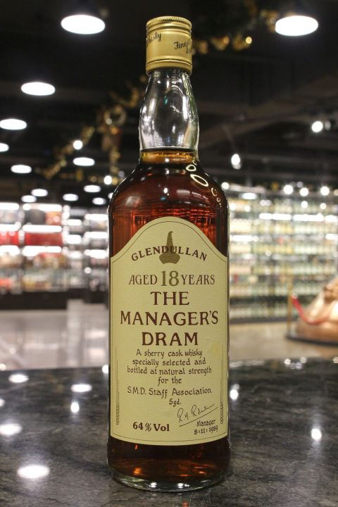 (現貨) Glendullan 18 Years The Manager's Dram 1989 格蘭杜蘭 18年 原酒 (700m 64%)