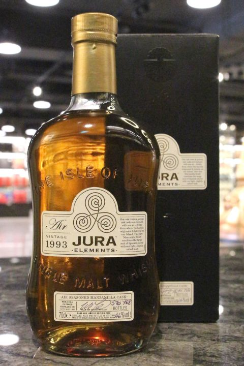 (現貨) Jura 1993 Elements -Air- Bottled 2008 吉拉 1993 Manzanilla雪莉桶 2008限量版 (700m 46%)