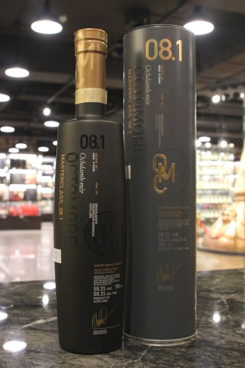 BRUICHLADDICH Octomore 8 years Edition 8.1 布萊迪 奧特摩 8.1 超重泥煤 (700ml 59.3%)