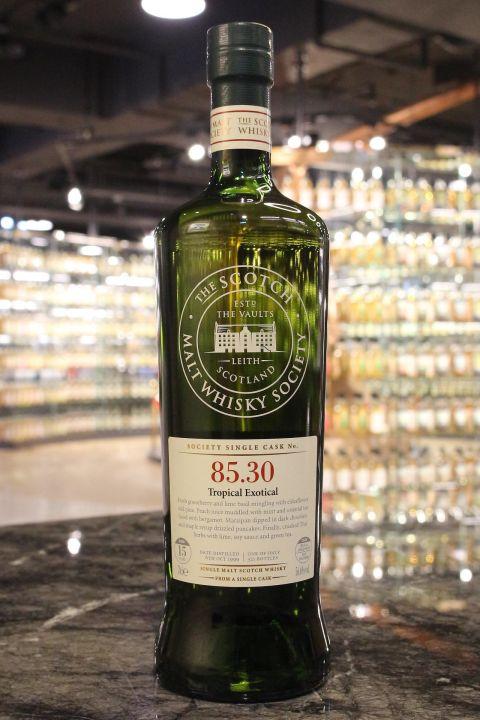 (現貨) SMWS 85.30 Glen Elgin 15 years 格蘭愛琴 單桶原酒 15年 蘇格蘭威士忌協會 (700ml 56.6%)