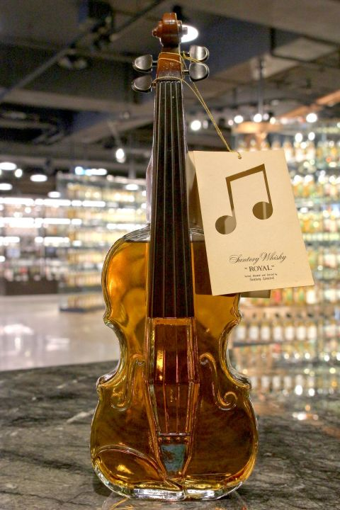 (現貨) Suntory Royal Blended Whisky Instrument - Violin 三得利 樂器系列 小提琴 (700ml 43%)