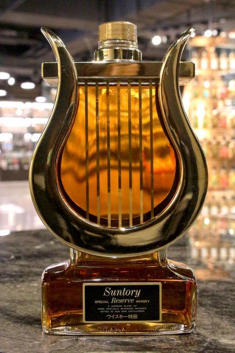 (現貨) Suntory Special Reserve Whisky Instrument - Harp 三得利 樂器系列 豎琴 (600ml 43%)