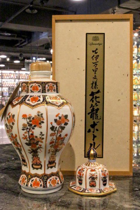 (現貨) Nikka Arita Yaki Ceramic Decanter 有田燒 古伊萬里文樣花籠瓶 (660ml 43%)