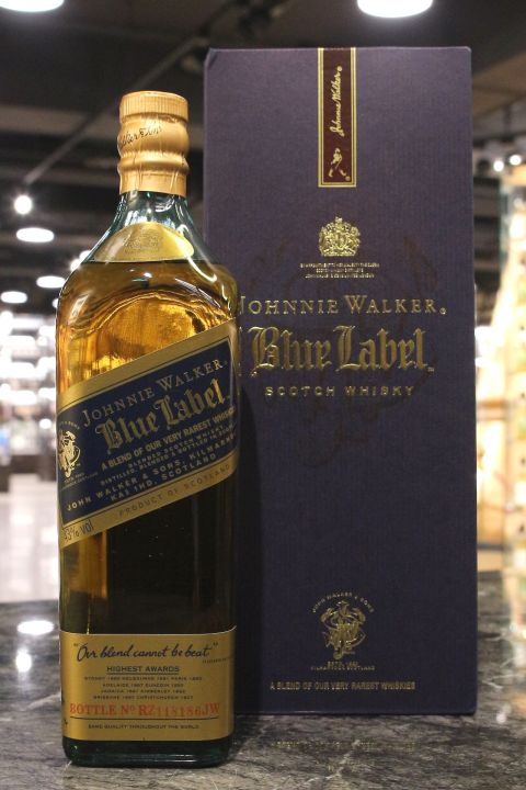 (現貨) Johnnie Walker Blue Label Highest Awards 約翰走路 藍牌 舊版 (750ml 43%)
