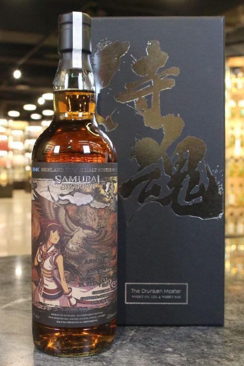 (現貨) The Drunken Master – Secret Highland 1987 Samurai Shodown 醉俠 侍魂 娜可露露 (700ml 50.6%)