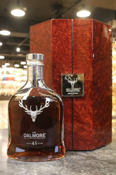 (現貨) Dalmore 45 Years Single Malt Scotch Whisky 大摩 45年 單一麥芽威士忌 (700ml 40%)