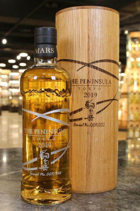 (現貨) Komagatake Whisky The Peninsula Tokyo 2019 駒之岳 東京半島酒店限定 木盒版 (700ml 60%)