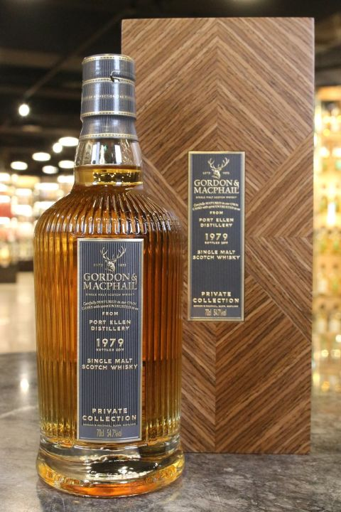 (現貨) Port Ellen 1979 G&M Private Collection 高登麥克菲爾-波特艾倫 1979 單桶原酒 (700ml 54.7%)