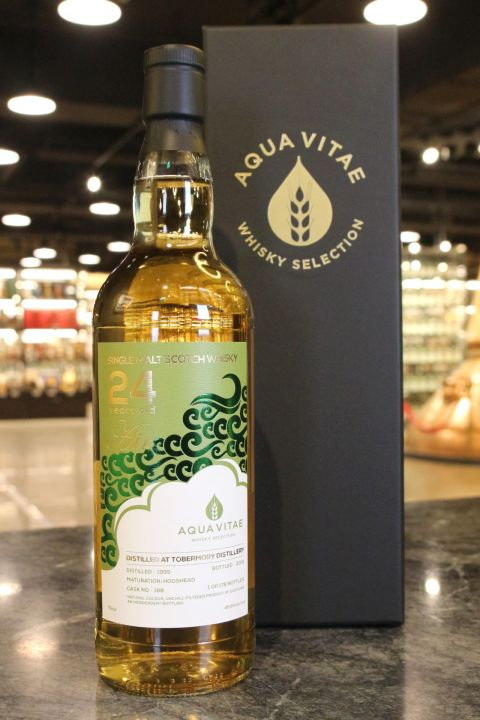 (現貨) Tobermory 1995 24 Years Single Hogshead - AQUA VITAE 元素系列 風 Air (700ml 49.8%)
