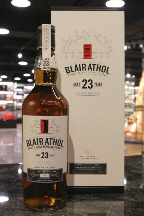 (現貨) Blair Athol 23 Years Single Malt Cask Strength Limited Release 布萊爾阿蘇 23年 限量原酒 (700ml 58.4%)