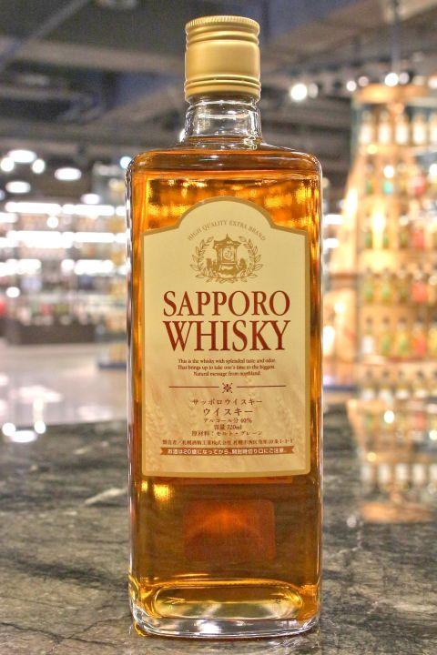 (現貨) Sapporo Whisky Japanese Whisky 札幌 威士忌 (720ml 40%)
