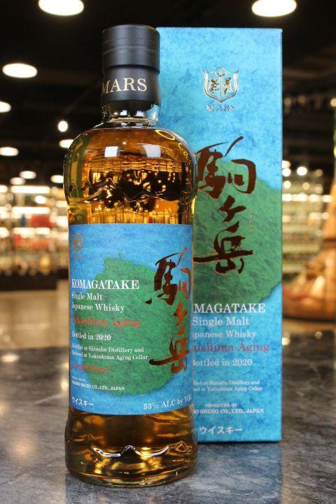 (現貨) Komagatake Yakushima Aging Bottled in 2020 駒之岳 屋久島熟成2020限定版 (700ml 53%)