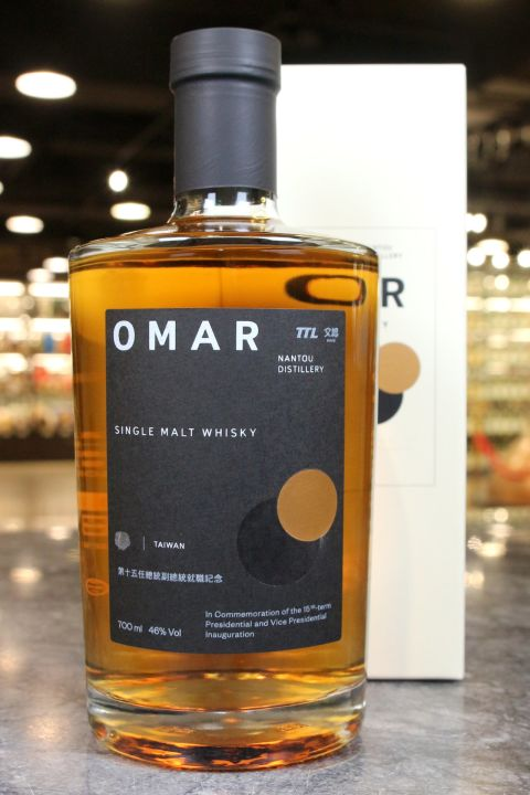 TTL OMAR Single Malt Whisky 臺灣菸酒 就位 第十五任總統副總統就職紀念威士忌 (700ml 46%)