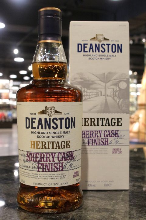 Deanston 1785 Heritage Sherry Cask Finish 汀士頓1785傳承雪莉桶二次陳釀 (700ml 40%)