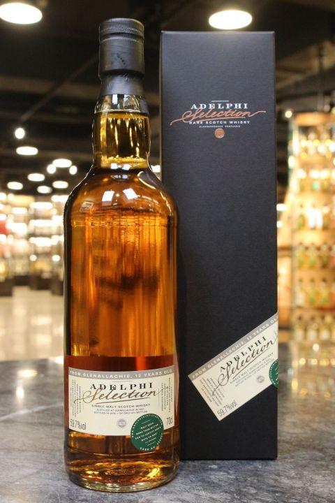 (現貨) Adelphi - Glenallachie 2007 12 Years PX Sherry Butt 艾德菲 艾樂奇12年PX雪莉桶 (700ml 59.7%)