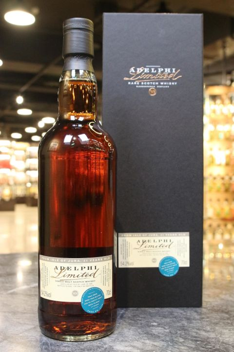 (現貨) Adelphi - Jura 1998 21 Years Oloroso Sherry Hogshead 艾德菲 吉拉21年Oloroso雪莉桶 (700ml 54.2%)