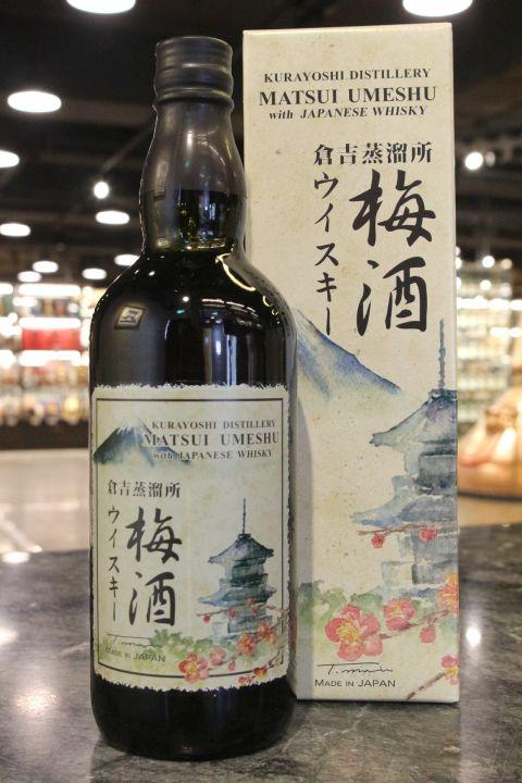 (現貨) Matsui Umeshu with Japanese Whisky 松井 倉吉蒸餾所 威士忌梅酒 (700ml 15%)