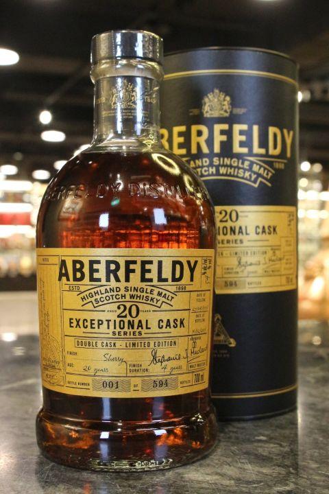 (現貨) Aberfeldy 20 Years Double Cask Limited Edition 艾伯迪 雙桶 20年 單桶原酒 (700ml 54%)