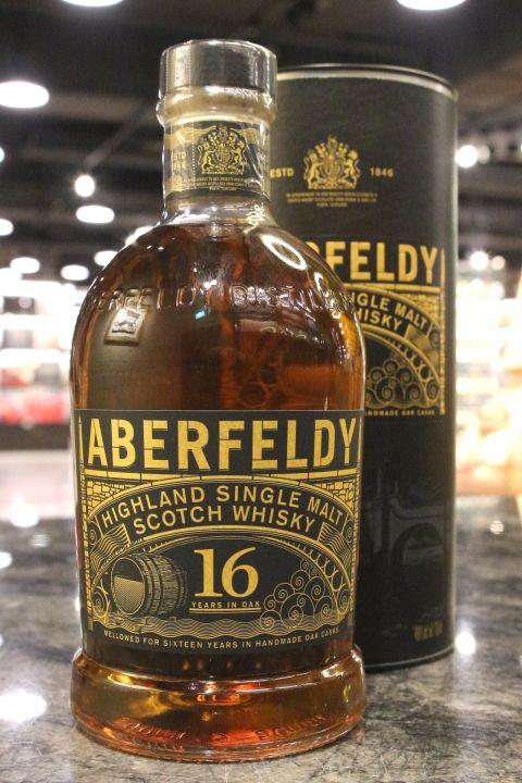 (現貨) Aberfeldl 16 Years Single Malt Scotch Whisky 艾柏迪16年單一麥芽威士忌 (700ml 40%)