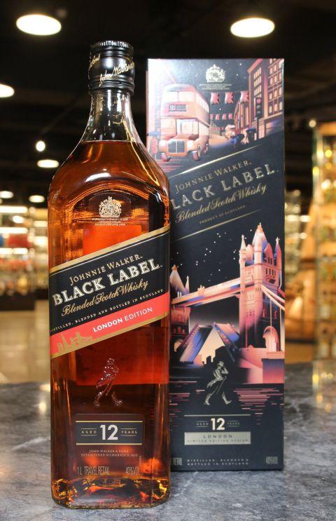 Johnnie Walker Black Label 12 Years London Limited Edition 約翰走路黑牌12年 倫敦限定版 (1000ml 40%)