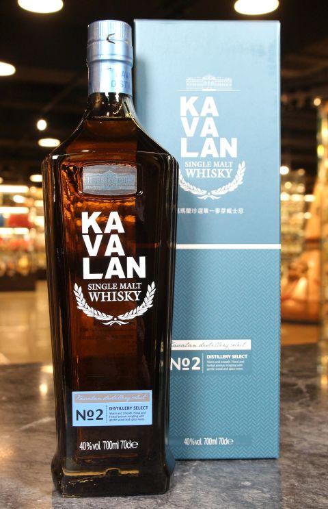 (現貨) KAVALAN Distillery Select No.2 噶瑪蘭 珍選No.2 單一麥芽威士忌 (700ml 40%)