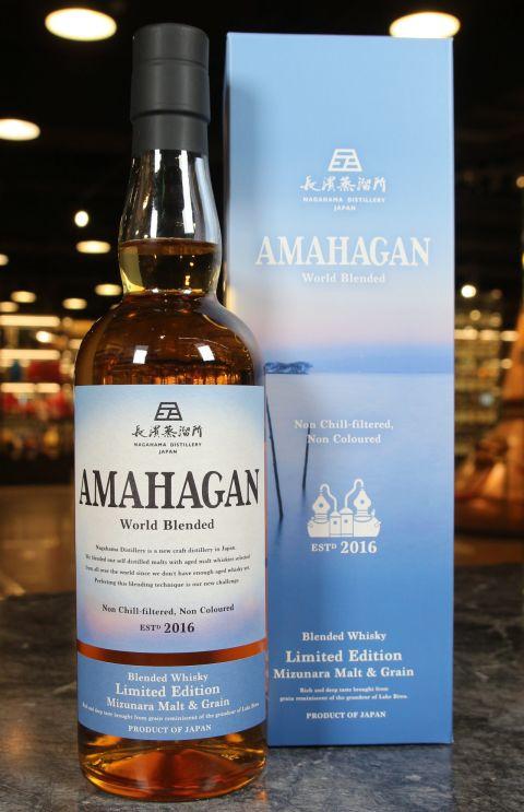 (現貨) NAGAHAMA Amahagan World Malt Limited Edition Mizunara 長濱 限定版水楢桶 (700ml 47%)