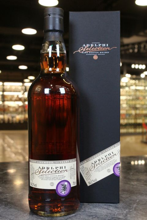 (現貨) Adelphi Linkwood 2008 11 Years 1st Fill Oloroso Sherry Butt 艾德菲 林肯伍德 2008 雪莉桶 (700ml 54.2%)