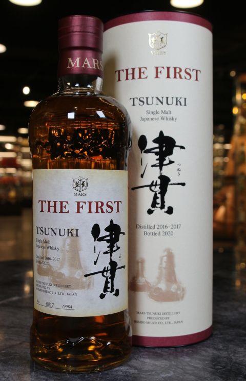 (現貨) Mars TSUNUKI THE FIRST Single Malt Whisky 津貫 單一麥芽威士忌 (700ml 59%)