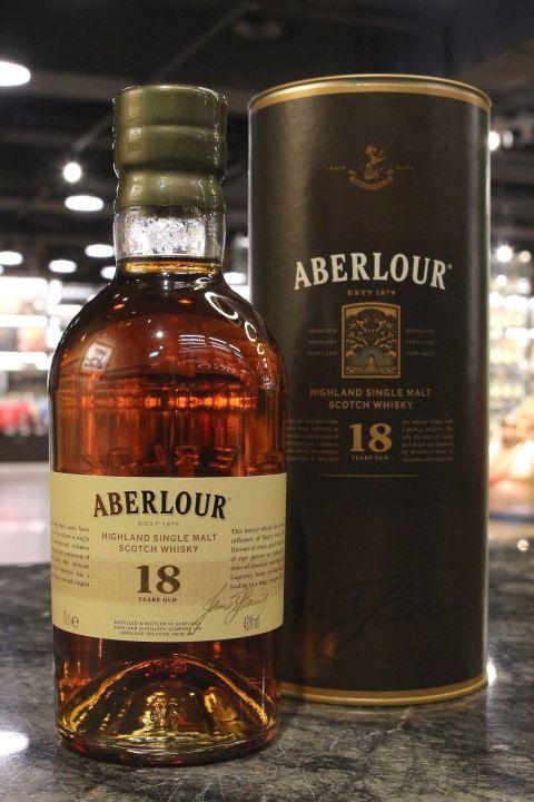 Aberlour 18 Years Double Cask 亞伯樂 18年 雙桶 (700ml 43%)