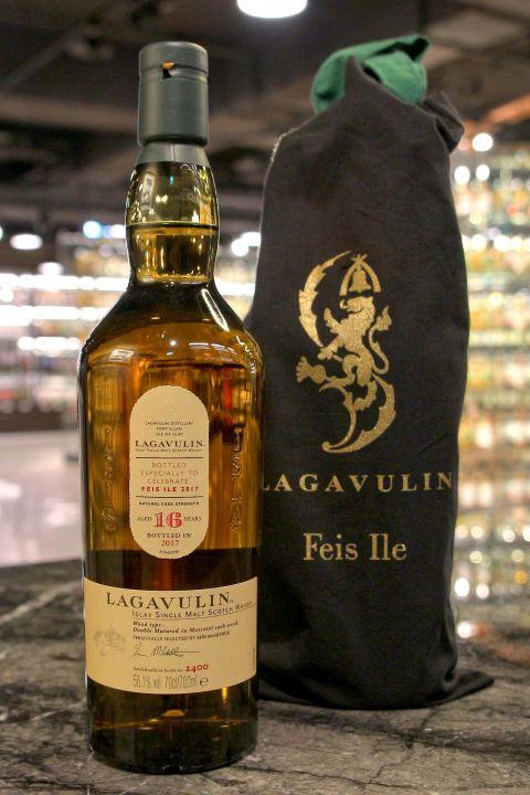 (現貨) LAGAVULIN 16 Years Cask Strength - Feis Ile 2017 拉加維林16年原酒 艾雷嘉年華2017版 (700ml 56.1%)