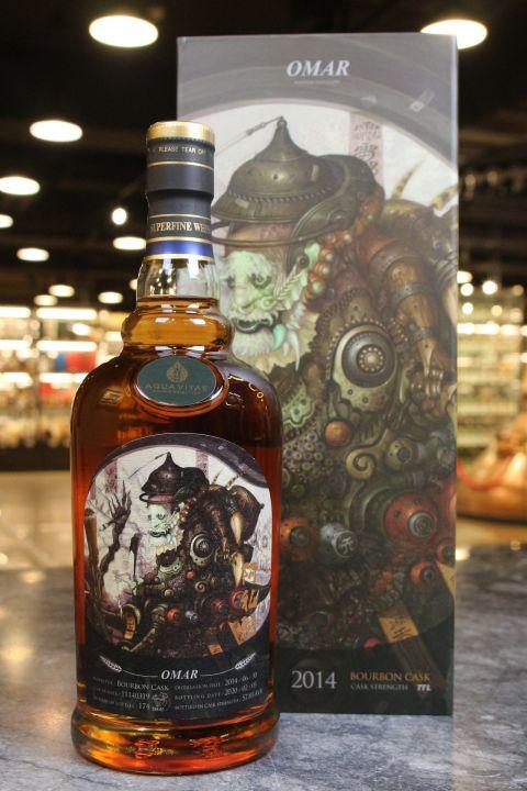 (現貨) TTL Omar 2014 Bourbon Cask - AQUA VITAE 仙者系列 阿私陀 (700ml 57.8%)