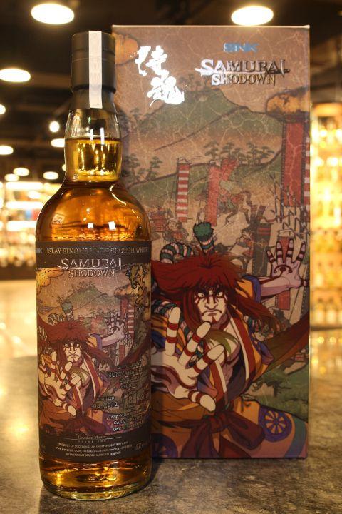 (現貨) The Drunken Master  Bunnahabhain 2012  Samurai Shodown 醉俠 侍魂 千兩狂死郎 (700ml 57.6%)