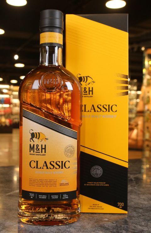 (現貨) M&H Classic Single Malt Whisky 奶與蜜 經典 單一麥芽威士忌 (700ml 46%)